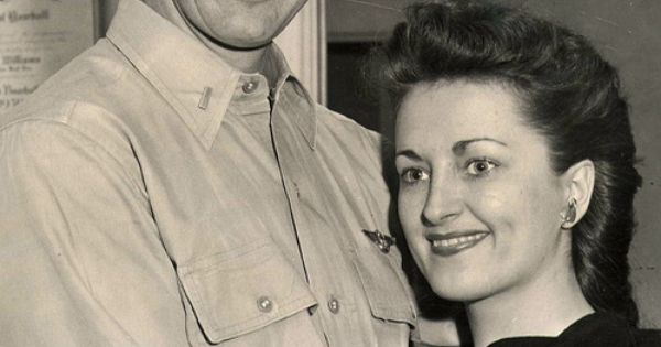 Ted Williams and his first wife, Doris Soule, in San Diego ...