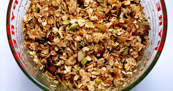 Butter, Granola and Smitten kitchen on Pinterest