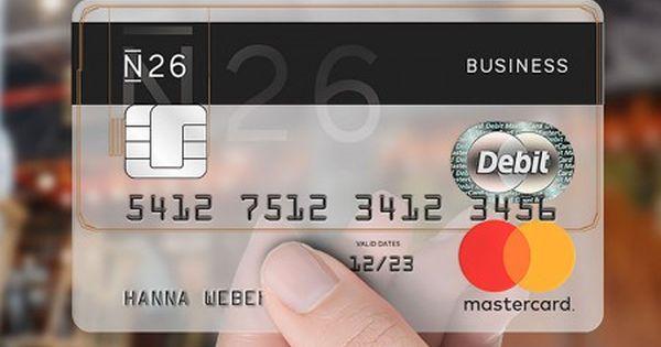 N26 Iban Konto Eu Iban Girokonto Girokonto Kostenlose Kreditkarte Kreditkarte
