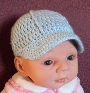 Newborn Ballcap Pattern Free Original Patterns Crochet Baby Hat Patterns Crochet Baby Patterns Crochet Baby Hats