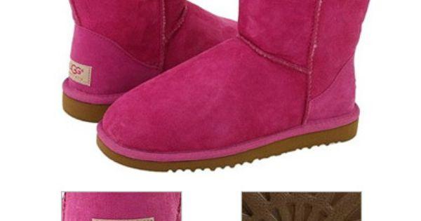 Fuschia Ugg Boots I wanttttt!