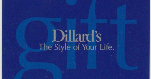 Dillards Gift Card Balance Gift Card Everyday Gifts