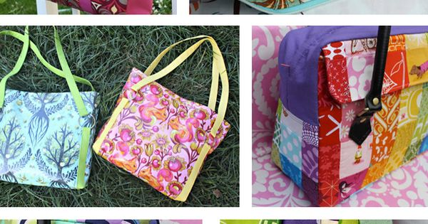 6 Bright Bags to Sew - Sewing Secrets - A Blog by