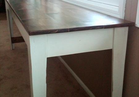 love these tall and narrow tables!   House Ideas   Pinterest   Narrow table, Farmhouse table and ...
