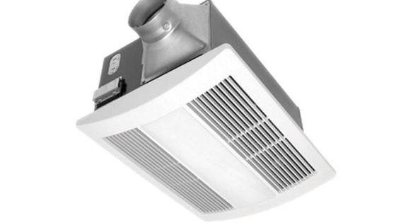Panasonic Ventilation Whisperwarm Quiet Fan Heater Solution 110 Cfm Fv 11vh2 Fan Light Bathroom Heater Bathroom Ventilation Fan