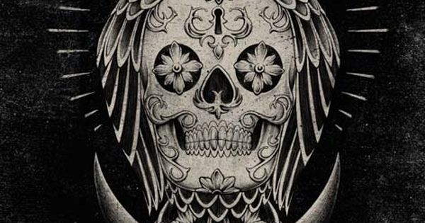 This would be an awesome Tattoo!! Owl skull tattoo