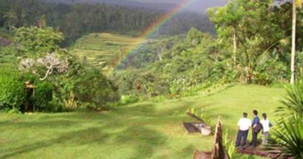 Outbound Bali Mahagiri Campground Yang Letaknya Di Bagian Bawah Mahagiri Ini Sangat Menarik Sekali Dengan Pemandangan Gunung Agung Rice Bali Pemandangan Tempat