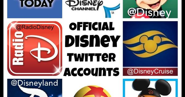 Disney uses many forms of social media, they frequently use twitter to