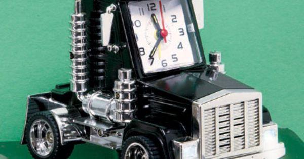 Big Rig Alarm Clock : Quot big rig alarm clock boys room pinterest