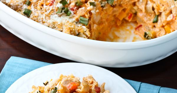 Buffalo Chicken Pasta ~ A Spicy Perspective