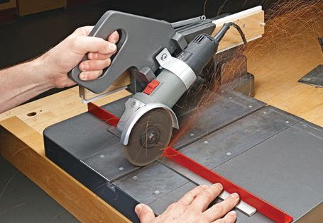 Sliding Cutoff Grinder Woodsmith Plans Shop