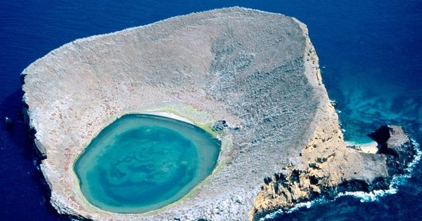 THE BLUE LAGOON, ECUADOR Photograph by Bobby Haas Photographer's Description: As startling