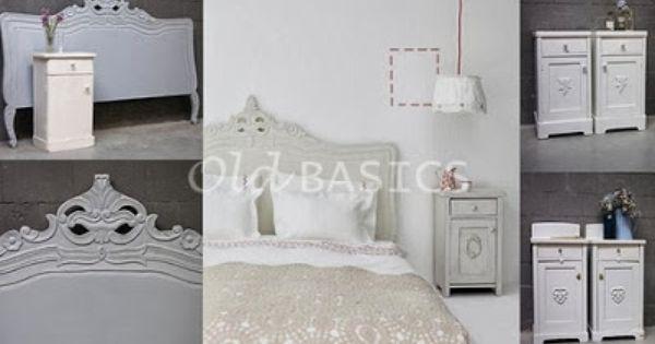Slaapkamer Early Dew : Old BASICS: brocante bedhoofd, oude ...