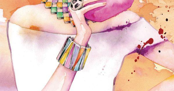 ZsaZsa Bellagio: Art Spotlight: Fabulous Fashion Illustrations