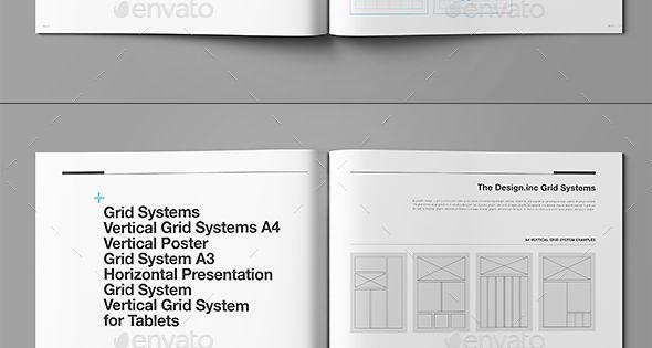 brand manual template indesign indd design download. Black Bedroom Furniture Sets. Home Design Ideas