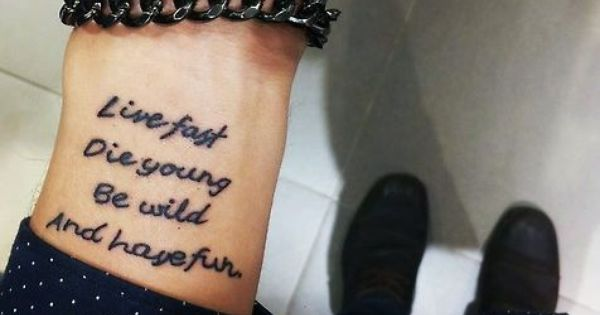 lana del rey tattoo die young - photo #9