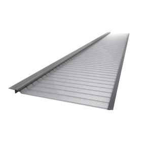 Gutter Guard By Gutterglove 4 Ft L X 5 In W Stainless Steel Micro Mesh Gutter Guard 20 Pack Thd80 With Images Gutter Guard Moulding Millwork Contemporary Ceiling Medallions