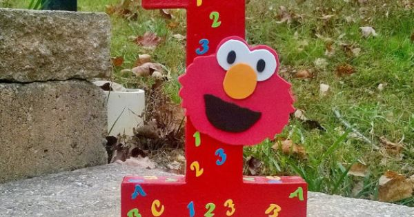 Elmo Birthday Party Sesame Street By
