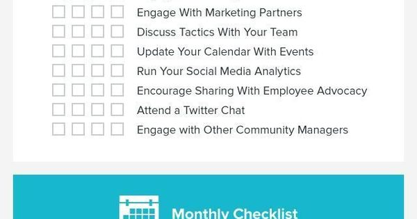 Passive income| Online Business| 6 figures| Build E-mail List |Trying to keep up with your social media marketing? Here's the guide! This is the only social media checklist you'll ever need! (Infographic)
