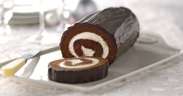 This Chocolate Cake Roll is delicious with Cool Whip, Semi ...