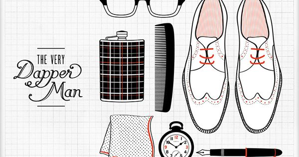 For my ever-stylish man-about-town. menswear dapper gentleman fashion style checklist