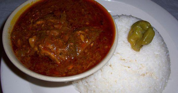 Suppa Kandja Okra Palm Oil Stew Senegal West Africa Rezepte Weste
