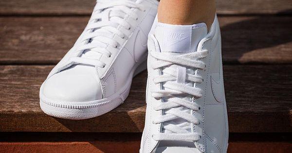 Nike Tennis Classic Zawsze W Trendzie Nike Najki Swoosh Tennisclassic Tennisshoes Trampki Nikeshoes Bialetrampki White Sneaker Shoes Sneakers