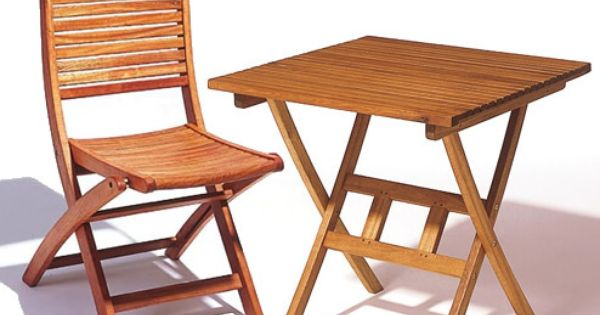 Cochon Bistro Table And 2 Chairs Cochon Hardwood Folding