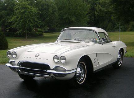 1962 Chevrolet Corvette Corvette History Timeline