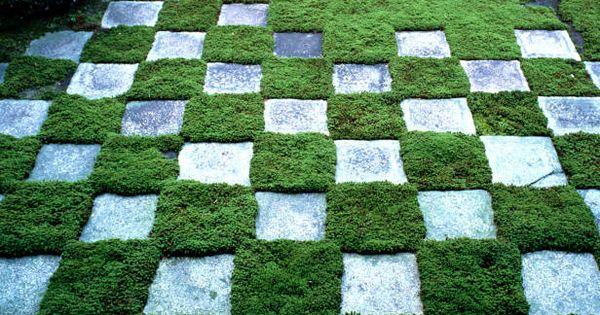 Follow these easy steps from hgtv gardens to make a for Checkerboard garden designs