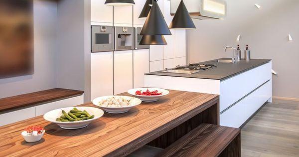 Smalle keuken met eiland google zoeken keuken inspiratie pinterest kitchens house and - Smalle keuken ...
