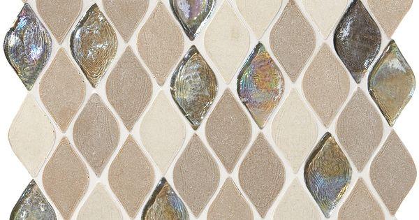 Limestone Collection Blanc Et Beige Rain Drop Da20 Natural