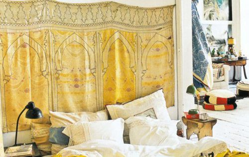 The World of Interiors..... Bohemian Bedrooms