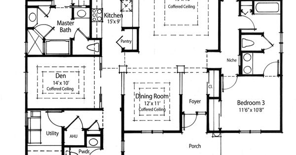 Plan W33019zr Super Energy Efficient House Plan