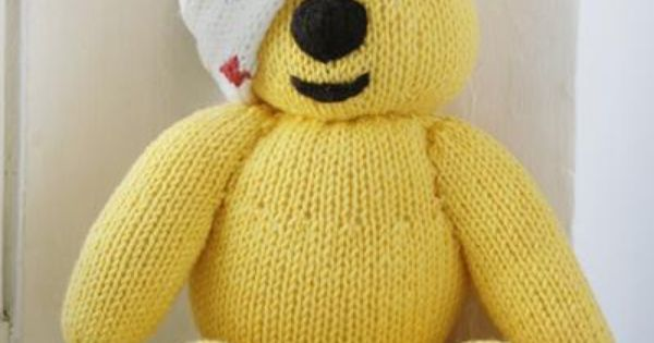 Pudsey Bear Knitting Pattern : Free Pudsey pattern Charity Pinterest Patterns