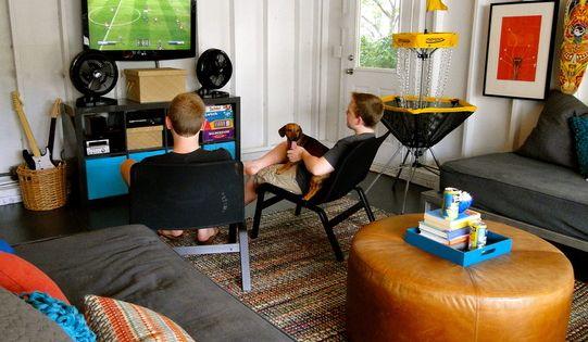 Garage Game Room Teen Retreat