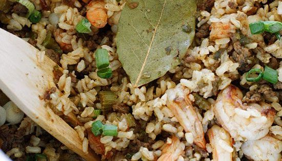 Dirty Brown Rice With Shrimp | Shrimp, Main Dishes and Brown Rice