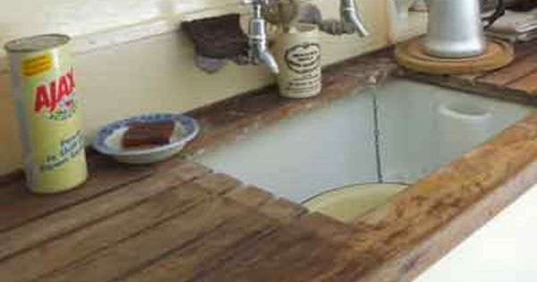 Stoneware Sink Wooden Draining Board And Ajax Draining Board Sink Kitchen Sink Drainboard