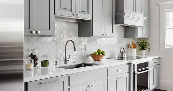 Shaker style kitchen cabinet painted in benjamin moore - Configuratore cucine ikea ...