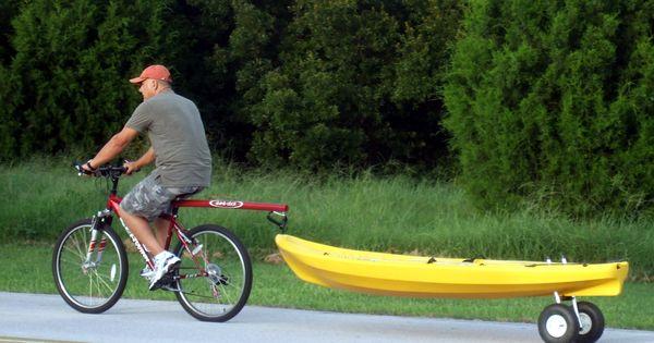 Storing Bikes On Boats: Kayak Dolly & Dumb Stick For Bike