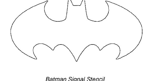 free bat signal coloring pages - photo#10