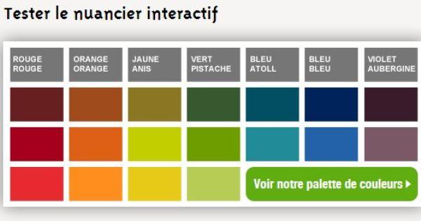Decouvrez Le Nuancier Interactif Peinture Leroy Merlin Nuancier Nuancier Peinture