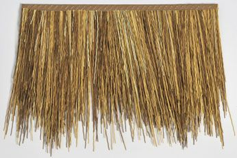 Buy Wholesale Artificial Synthetic Palm Thatch Reed Thatch Panels Thatched Roof Synthetic Roofing Roof Decoration