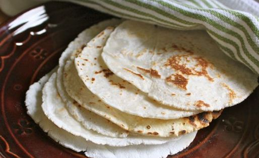 Gluten-Free Flour Tortillas Recipe Breads with white rice flour, tapioca starch, granulated