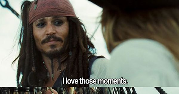Jack Sparrow quote | funny, jack sparrow, johnny depp, movie quote, pirates