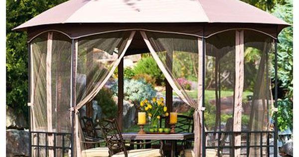Better Homes And Gardens Gilded Grove Gazebo 12 X 12