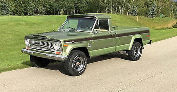 Ebay Jeep J4000 J4000 1973 Jeep J 4000 4 X 4 Pickup Truck Rare