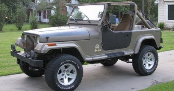 Jeep Yj Rubicon Express 2 5 Standard Suspension Installation Part
