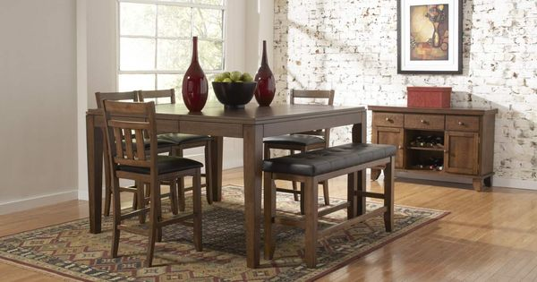 ... Counter Height Bench Home Elegance Pinterest Warm, Benches and