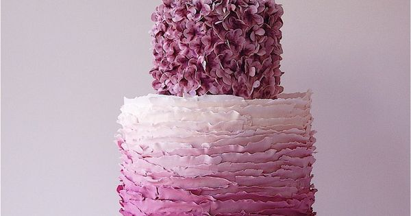 pretty cake, pretty color